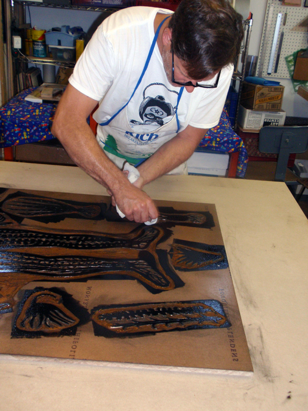 Master Printer Brent Bond
