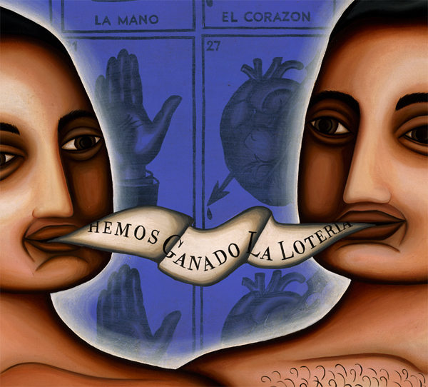 "Detail ""Hemos Ganado La Loteria"" We Have Won The Lotery -Available"
